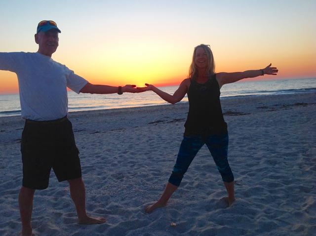 Beach Yoga in Venice