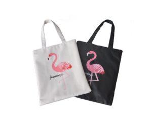 Flamingo Canvas Shopper - So macht die Shopping Tour noch mehr Spaß! Image